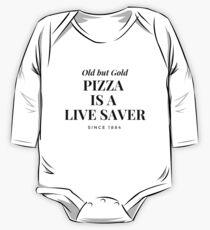 Pizza Save lives One Piece - Long Sleeve