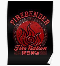 Firebender Poster