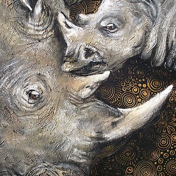 Rhino's — The Spiral of Life by cheriedirksen