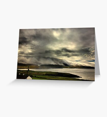 Bolus Head Under A Cloud Greeting Card