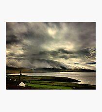 Bolus Head Under A Cloud Photographic Print