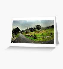 Abandoned Cottage Ballachbeama Gap Greeting Card