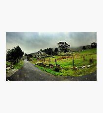 Abandoned Cottage Ballachbeama Gap Photographic Print