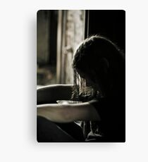 Cant Take This Anymore Canvas Print