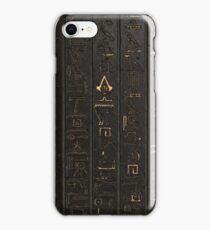 Dark Hieroglyphs [Assassin's Creed Origins] iPhone Case/Skin