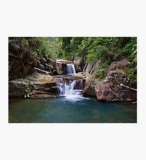 Black Hole Waterfall Photographic Print
