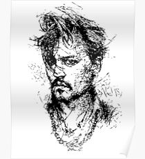 Simple Johnny Poster