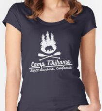 Camp Tikihama Women's Fitted Scoop T-Shirt