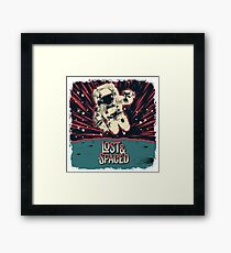 Lost and Spaced Framed Print