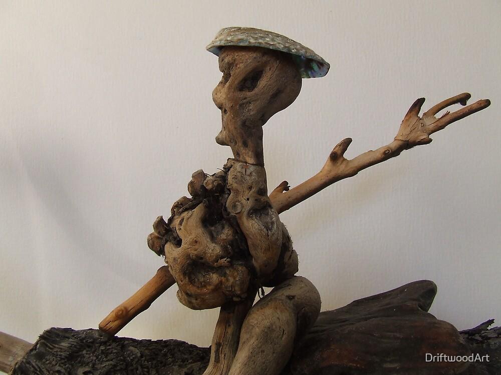 the Servant----detail by DriftwoodArt