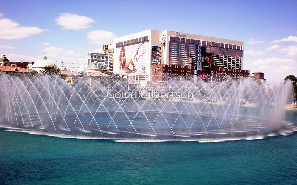 Las Vegas Bellagio Fountain show by Gowri Gilbertson