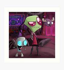 Team Doom  Art Print