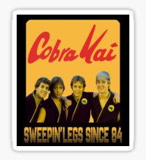 COBRA KAI GUYS - KARATE KID Sticker