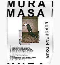 Mura Masa Europe Tour Poster Poster