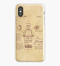Leonardo Da Vinci Lego iPhone Case/Skin