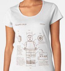 Leonardo Da Vinci Lego Women's Premium T-Shirt