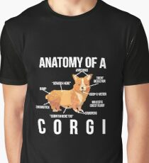 Anatomy Of A Corgi Graphic T-Shirt