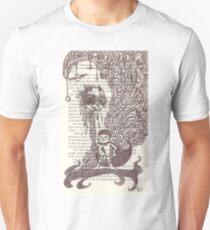 Super Kid holding a Chicken Head T-Shirt