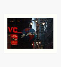 JVC Art Print