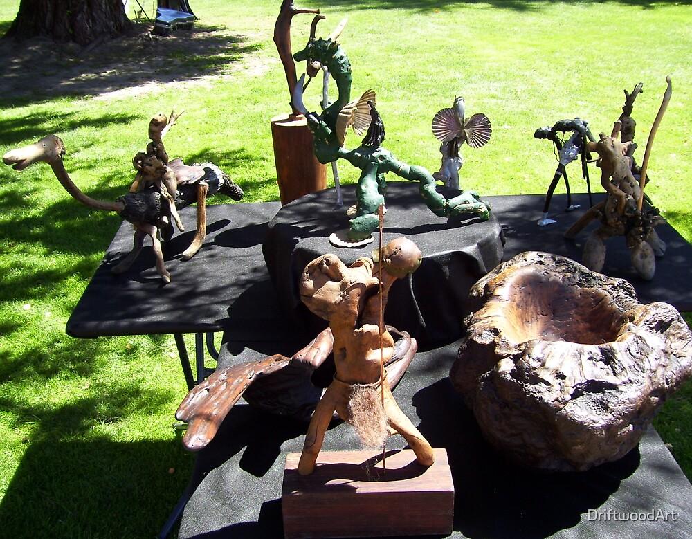 Artrageous Exhibition by DriftwoodArt