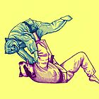Martial Arts - Way of Life #2 - cheetah vs badger - jiu jitsu, judo, bjj tomoe nage by undersideland