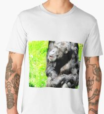 Chimpanzee Elder Men's Premium T-Shirt