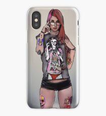 Tattooed Gamer Chick iPhone Case/Skin