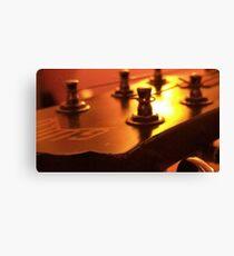 Guitar guild Canvas Print