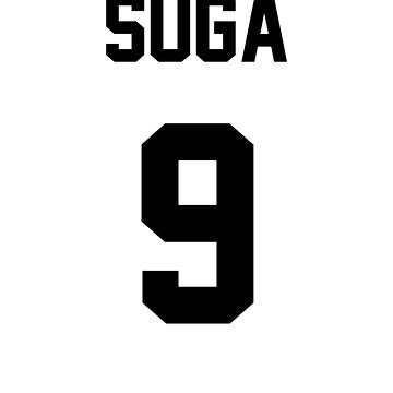 BTS Suga Jersey by Nitewalker314