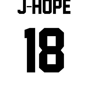 BTS J-Hope Jersey by Nitewalker314