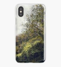 Landscape with trees iPhone Case