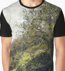Landscape with trees Graphic T-Shirt