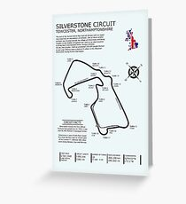 The Silverstone Circuit Greeting Card