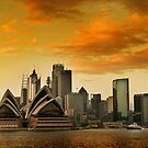 Sydney Sunrise 2 by David Mapletoft
