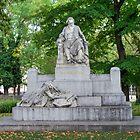 Johannes Brahms Memorial, Vienna Austria by Mythos57