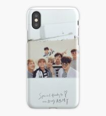 Special thanks to one & only Army - BTS Case iPhone Case/Skin