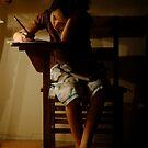 Late Night Scholar by Anne  McGinn