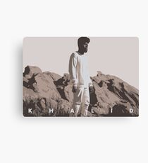 KHALID ALBUM COVER Canvas Print