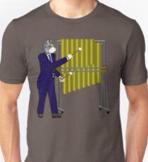 Cat playing Tubular Bells Unisex T-Shirt