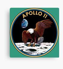 APOLLO-11 Canvas Print