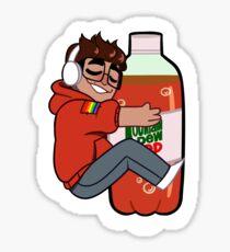 mountain dew red (original version) Sticker