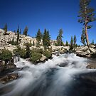 Cascades in Desolation Wilderness by Christophe Testi
