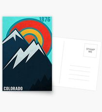 Colorado State Postcards