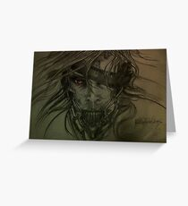 Raiden Metal Gear Solid Greeting Card