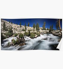 Pyramid Creek in Desolation Wilderness Poster