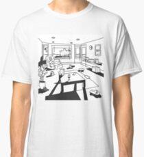 Camiseta clásica campus hippo / punto de referencia