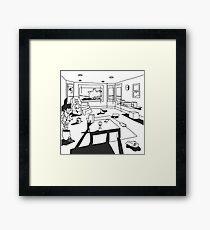 hippo campus / landmark Framed Print