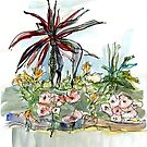 Flower Bed by Gabriele Maurus