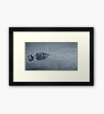 AT-AT From Above Framed Print