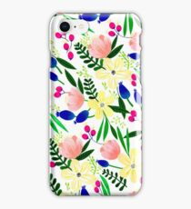Tropical Flowers iPhone Case/Skin
